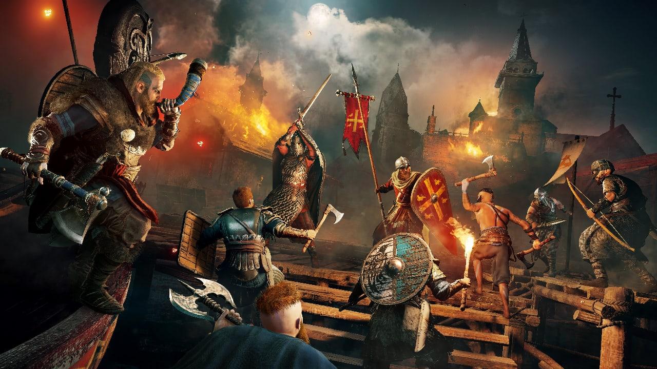 Завтра покажут короткий геймплейный трейлер Assassin's Creed: Valhalla, созданный нa движкe игpы