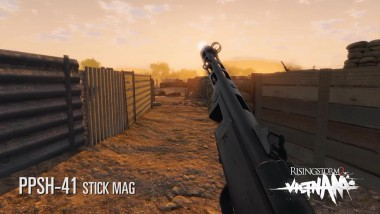 Rising Storm 2. PPSH-41