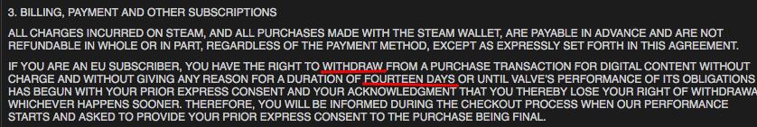 Steam если игра не понравилась бесплатные скины в кс го вк от jecca