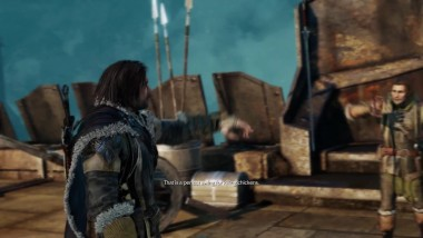"Middle-earth: Shadow of Mordor ""15 минут на PS4 Pro"""