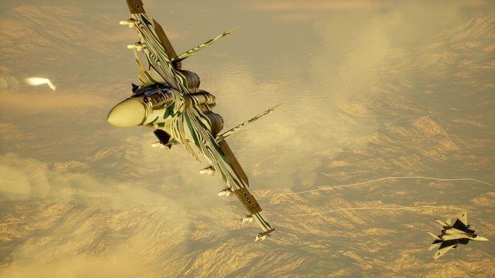 Новые скриншоты Project Wingman