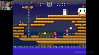 Super Mario Bros. X (v. 2.0) - The Invasion 2 - 7 уровень - Водные процедуры (на русском)