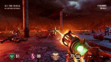 Геймплей Hellbound - режим выживания
