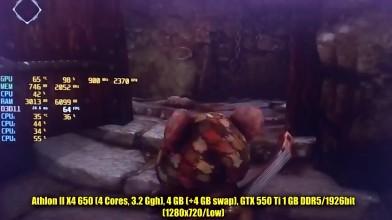 Ghost of a Tale на слабом ПК (2-4 Cores, 4-8 Ram, GeForce 630/550Ti, Radeon HD 7870)