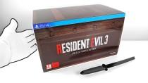 Распаковка коллекционного издания ремейка Resident Evil 3