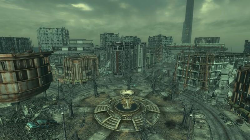 Локация из Fallout 3