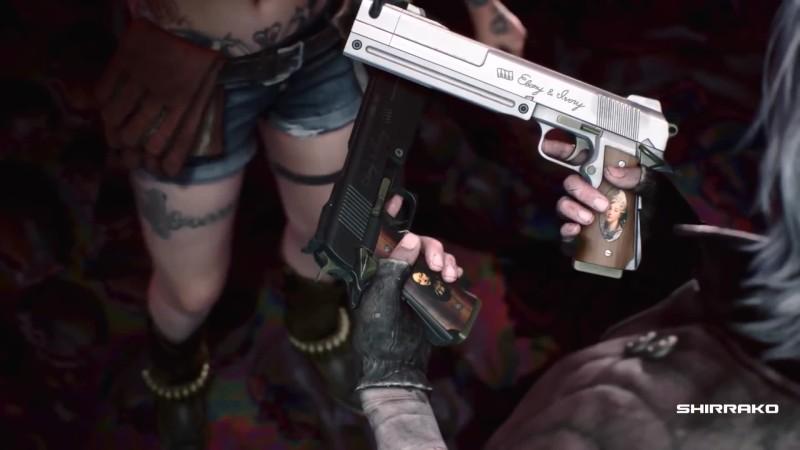 Devil May Cry 5 - Все кат-сцены оружия Данте и трансформации