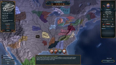 Europa Universalis IV: Conquest of Paradise. Рандомный рай