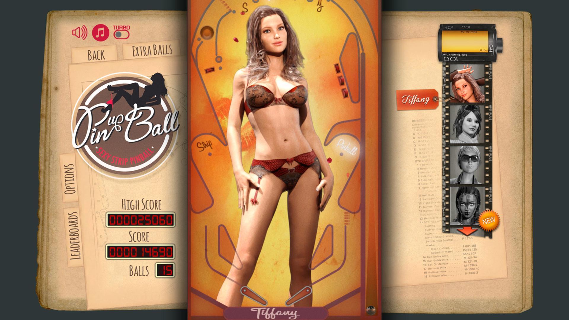 14 февраля в Steam выйдет стрип-пинбол Pinup Ball
