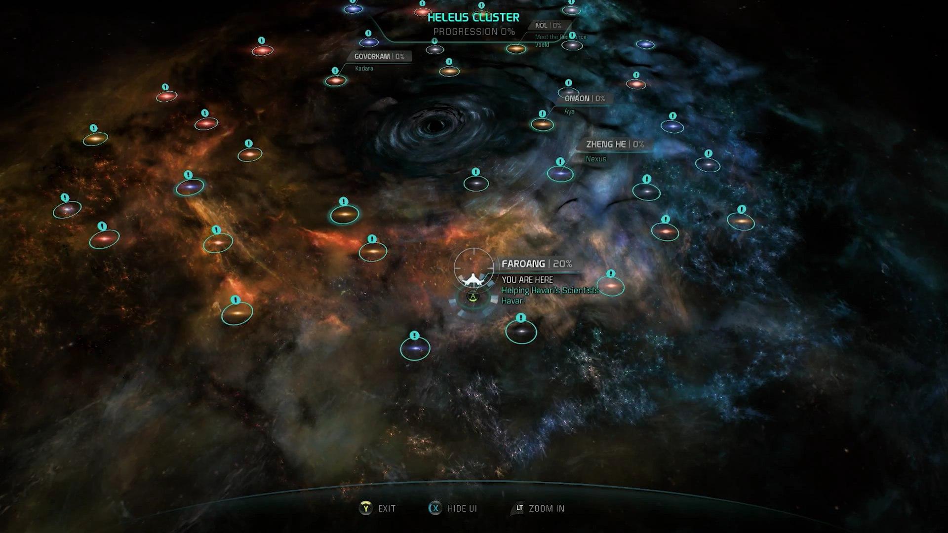 Сюжет ограничен впробном периоде Mass Effect Andromeda