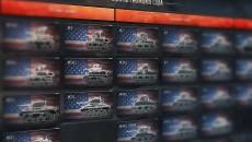 Стартовая линейка бронетехники США