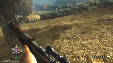 Wolfenstein 2009 Геймплей: Снайпер охотник за нацистами