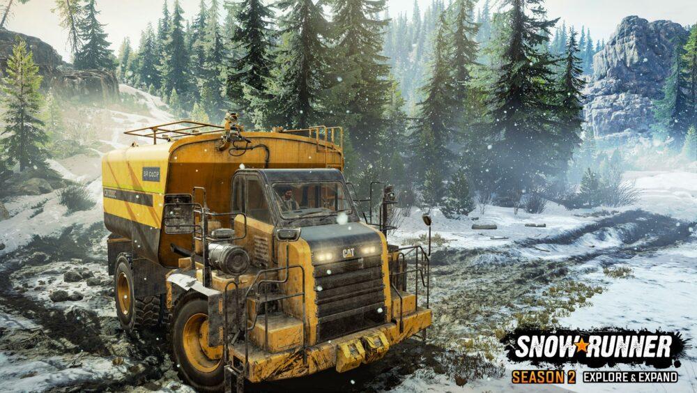 Новые скриншоты второго сезона SnowRunner