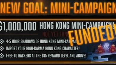 Kickstarter-кампания Shadowrun: Hong Kong завершается. Собрано более $1 млн