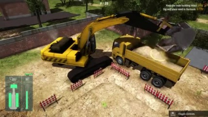 "Construction Machines Simulator 2016 ""Стрим - ч3"""