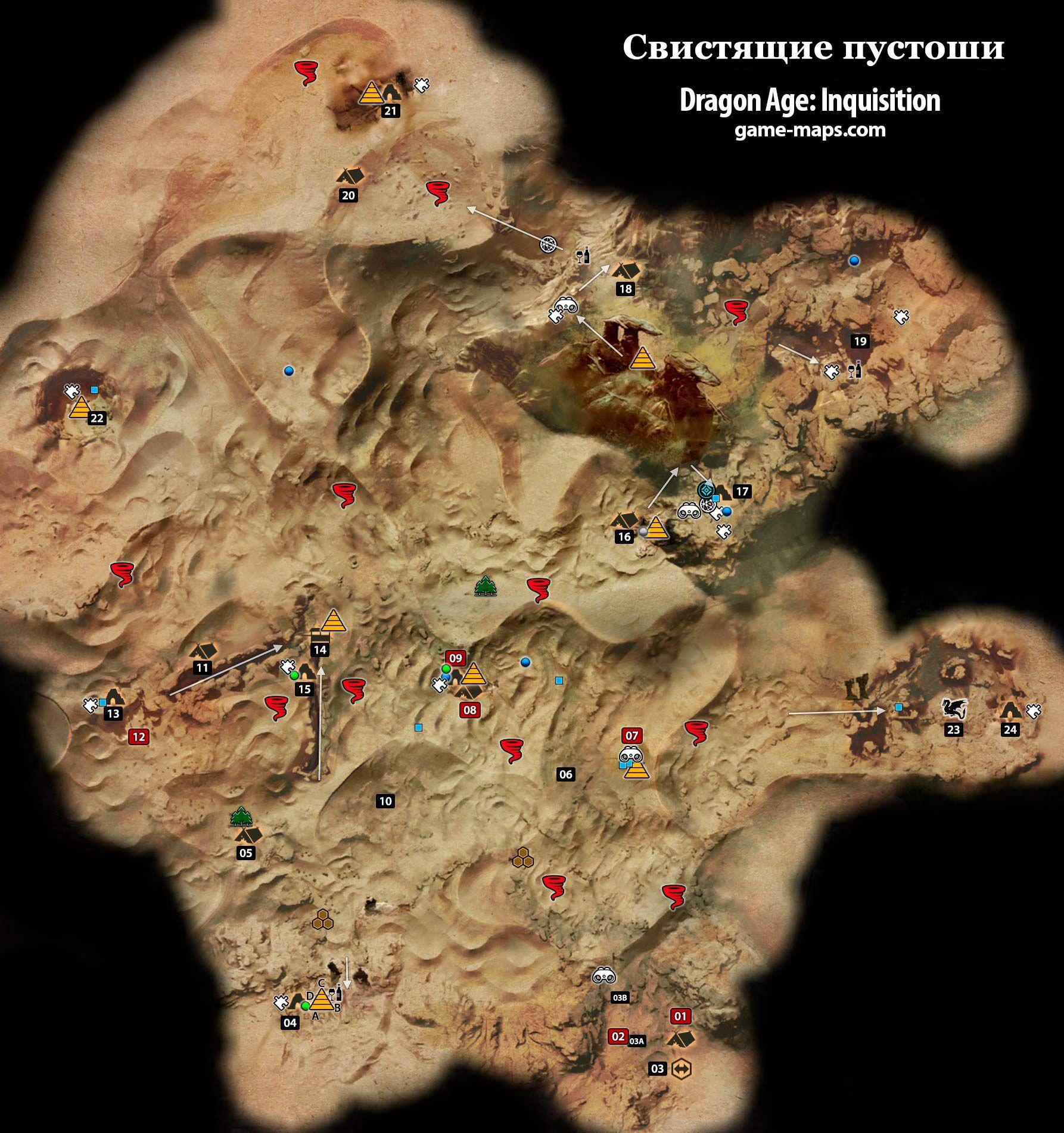 Ориентиры во внутренних землях карта фото