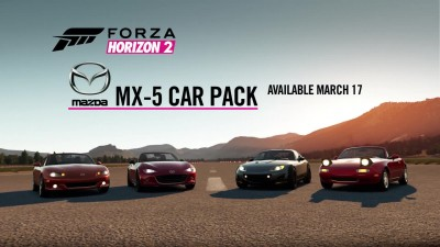 "Forza Horizon 2 ""Mazda MX5 Car Pack"""