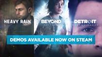 Анонсирующий трейлер выхода Heavy Rain, Beyond: Two Souls и Detroit: Become Human в Steam
