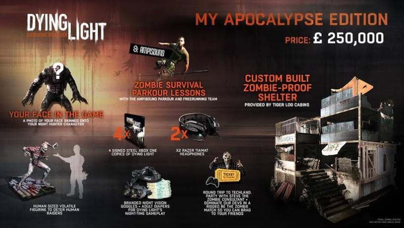 В комплекте My Apocalypse Edition были даже подгузники для взрослых