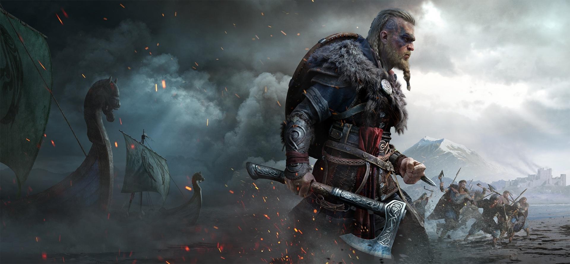 Assassin's Creed: Valhalla позволит вам владеть даже двумя щитами одновременно, если хотите