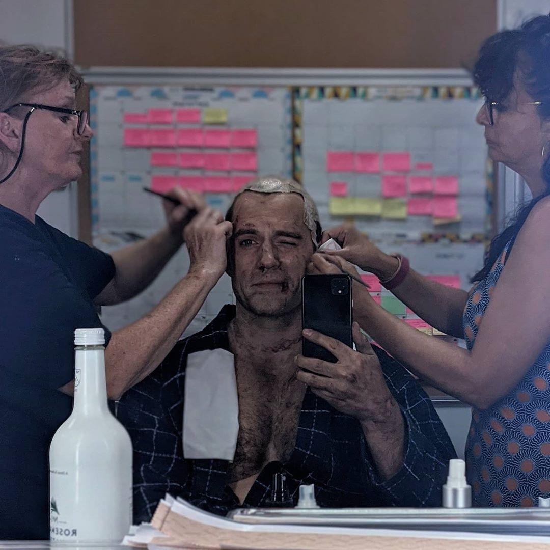 "Генри Кавилл показал первое фото со съемок 2 сезона ""Ведьмака"""