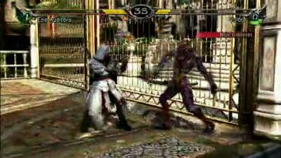 "SoulCalibur V ""Ezio vs Voldo Gameplay"""
