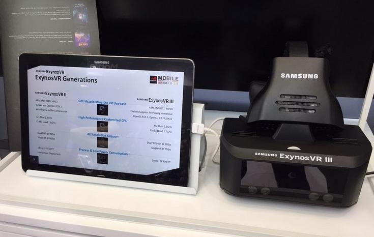 Гарнитура Exynos VR III получила панель 4K