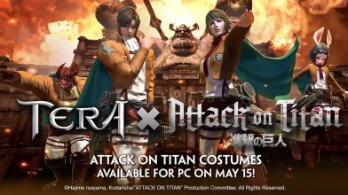 TERA x Attack on Titan - Трейлер коллаборации
