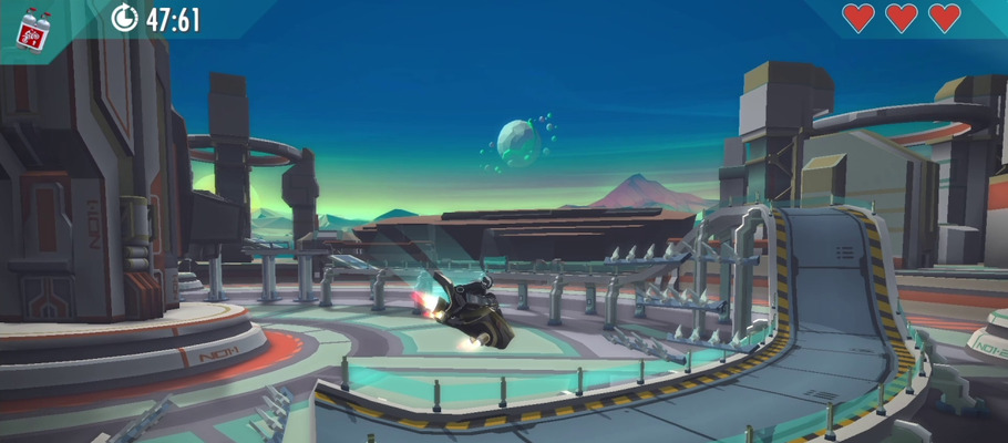 Gravity Rider Zero вышла на Switch