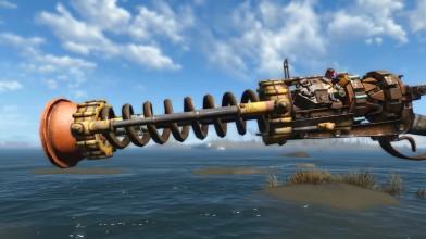 Fallout 4: Вантузомет - уникальное и самое мощное оружие