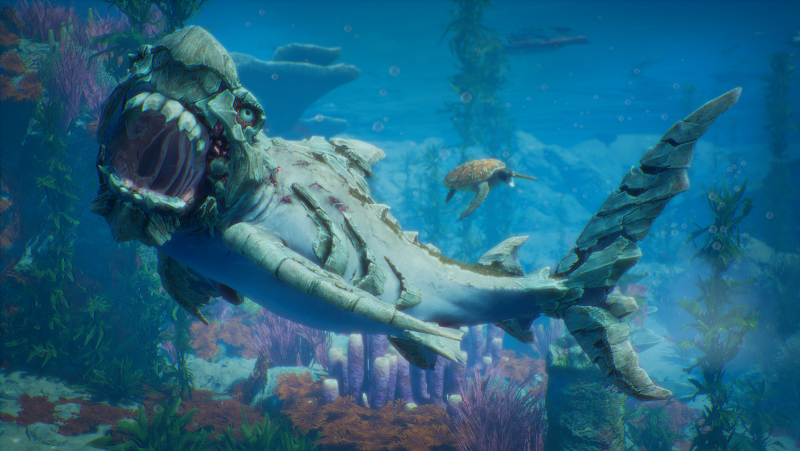 В Steam состоялся релиз симулятора кровожадной акулы Maneater