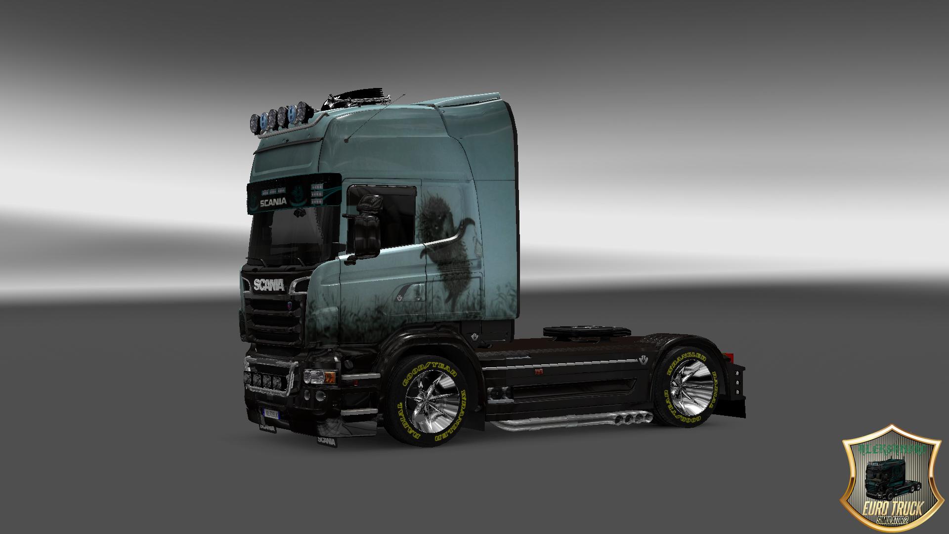 мод фредлайнер для euro truck simulator 2 скачать
