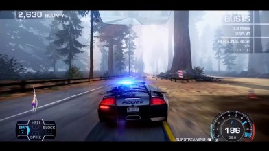 Need for Speed Hot Pursuit Ultra Realistic графический мод 2017