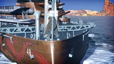 West Virginia: скоро в World of Warships!