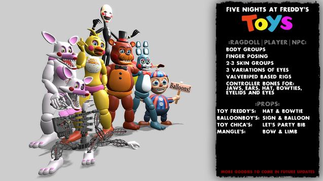 Скачать Мод Five Nights At Freddy S На Гаррис Мод - фото 6