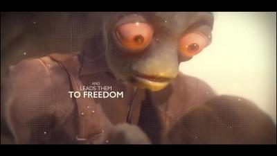 Oddworld: Soulstorm - Странный трейлер геймплея на русском - VHSник