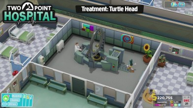 Two Point Hospital - Геймплейный трейлер E3 2018