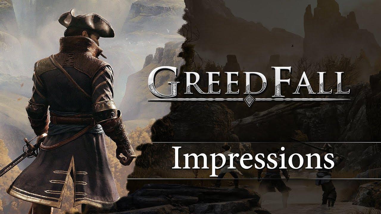 Новый геймплей GreedFall