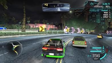 """Need for Speed: Carbon - автогонка с Энджи, Кендзи и Вольфом по городу, с использованием """"Ниссана 240SX"""""""