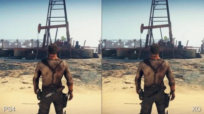 Mad Max PC vs PS4/XO