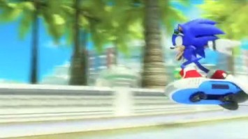 "Sonic Free Riders ""Launch Trailer"""