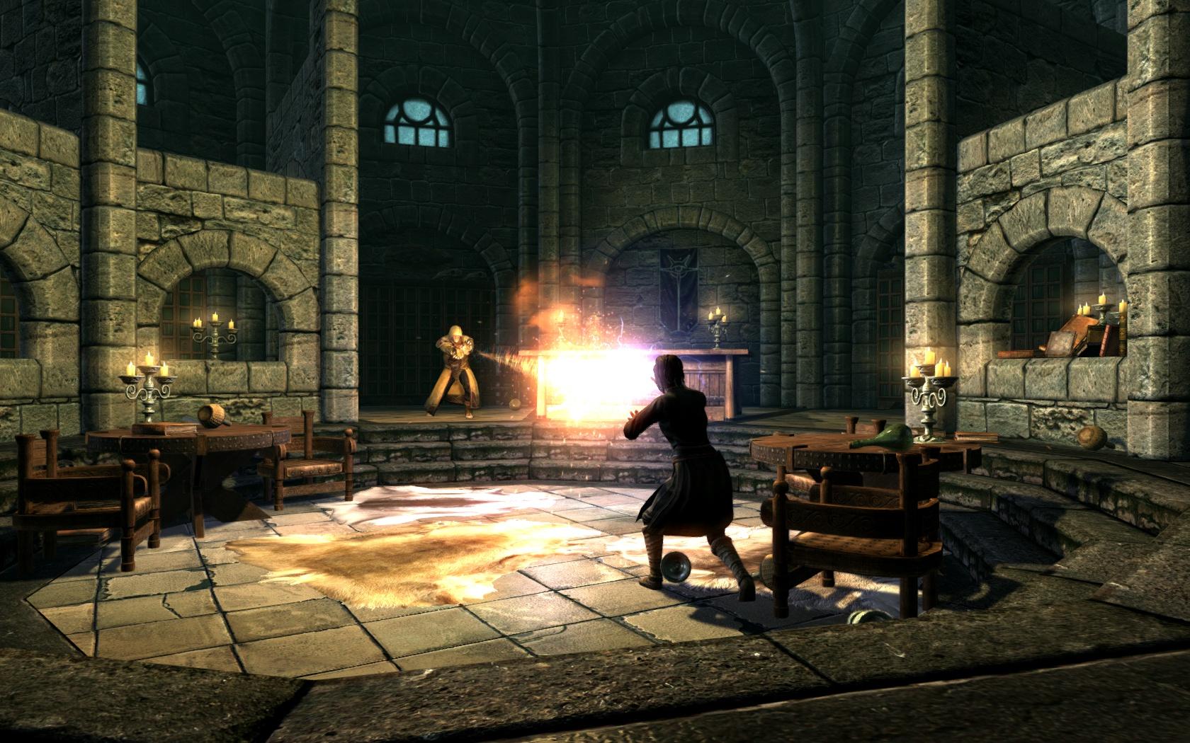 Скачать мод на скайрим magic duel