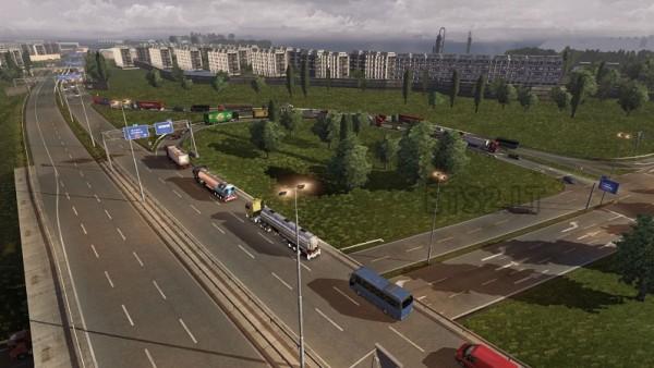 скачать мод на пробки для Euro Truck Simulator 2 - фото 9