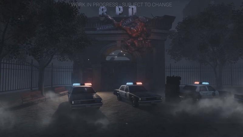 Скриншоты новой карты в Dead by Daylight: полицейский участок из Resident Evil