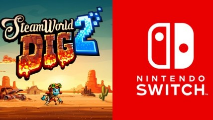 Image & Form похвалили HD вибрацию в Switch, SteamWorld Dig 2 будет активно её использовать