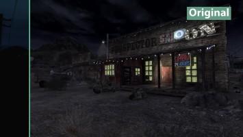 "Fallout: New Vegas ""детальное сравнение на PC - Maximum Graphics Mod Overhaul vs. Vanilla Graphics"""