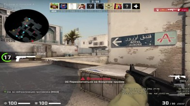 Counter-Strike: Global Offensive - Когда у девушки подгорает...