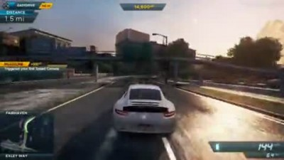 "Need for Speed: Most Wanted (2012) ""Первые 15 минут игры"""
