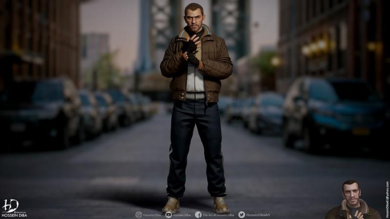 Некстген-версии главных героев Grand Theft Auto