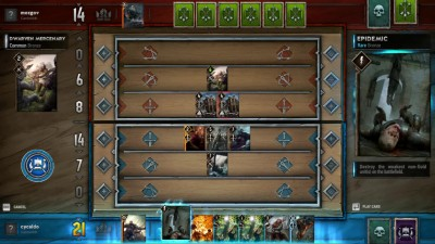 Геймплей Gwent: The Witcher Card Game - Kill The Servers (ПК)
